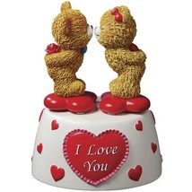 Kissing Bears Animated Musical Figurine by The San Francisco Music Box C... - $51.27