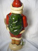 Vaillancourt Folk Art Wine Santa Signed by Judi Vaillancourt image 3