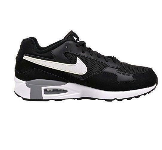 new styles d2ecf f0f74 57. 57. Previous. Nike Air Max st Run Laufschuhe Sz 8.5 Schwarz Weiß Cool  Grau 652976-001 1 · Nike Air ...