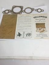 Antique Vellumoid Advertising Sales Brochure & Gasket Samples Automotive... - $16.65