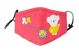 PM2.5 Children's Mask For Anti-smog Of N95 Activated Carbon (Pink)
