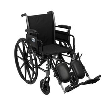 Drive Medical Cruiser III With Adjustable Arms and Leg Rests 18'' - $190.50