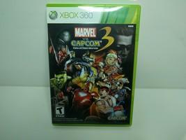 Marvel vs. Capcom 3: Fate of Two Worlds (Microsoft Xbox 360, 2011) Complete CIB