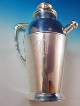 Silverplate Martini Pitcher Shaker by Apollo Bernard Rice's Sons #4339 - $49.00