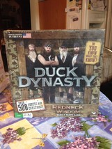 Duck Dynasty Redneck Wisdom Family Party Board Game Over 500 Quotes New Sealed - $15.99