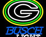 Nfl busch light green bay packers neon sign 16  x 16  thumb155 crop