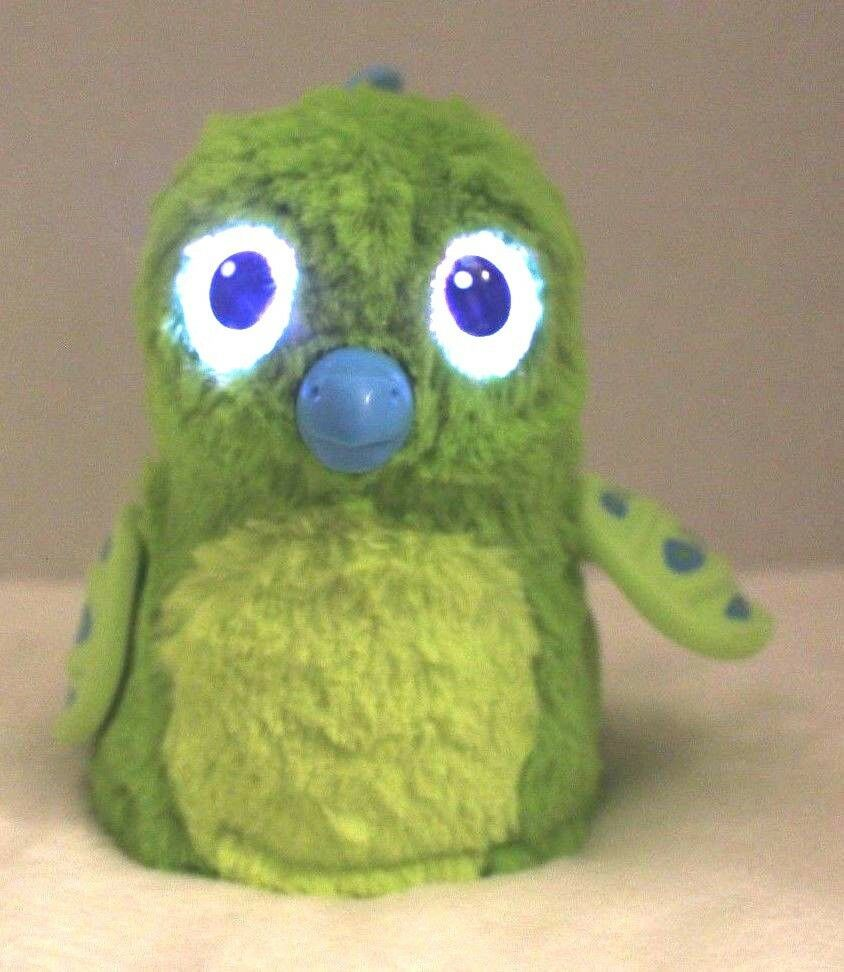Spin Master Hatchimals Draggle Green Dragon Hatched Opened No Egg