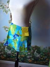 Matchmaker Separates Beach cover up Swimwear Blue Size Medium New  - $21.78