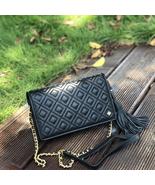 New Tory Burch Fleming Flat Wallet Crossbody Bag - $278.00