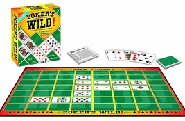 Jax Poker's Wild - From The Makers Of The SEQUENCE Game SEALED NEW FREE ... - $24.75