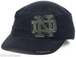 Notre Dame Fighting Irish Tow Women's CASTRO/CADET Ncaa Gleam Military Cap Hat - $17.09