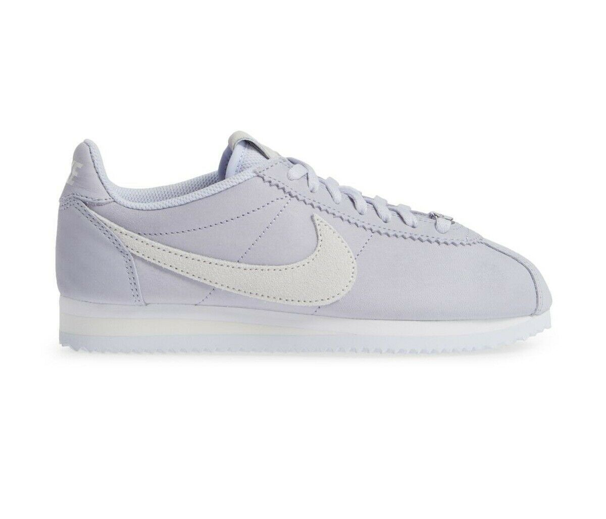 Nike Classic Cortez Leather Palest Purple White AT4999 500 Womens Size 9.5