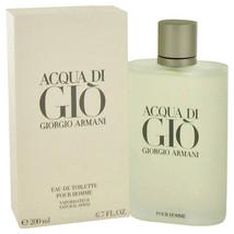 Acqua Di Gio Cologne By Giorgio Armani Eau De Toilette Spray 6.7 Oz Eau De Toil - $151.95