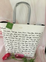 Kate Spade Nwt Heart It Penelope Tote Bag LARGE/MEDIUM Sweetheart I Love You - $180.00