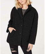 Collection B Juniors Faux-Fur Coat Black Size 2 Extra Large - $29.16
