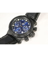 Invicta Reserve Jason Taylor Men's Quartz 46MM Black & Blue Watch - Mode... - $179.99