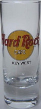Hard Rock Cafe KEY WEST Collectible Slender Shot Glass - $16.99