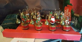 Mr Christmas 1991 SANTA'S MARCHING BAND Animated 8 Bell Ringers 35 Songs... - $95.00
