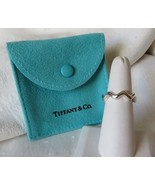 Tiffany & Co. Paloma Picasso Sterling Silver Zig Zag Ring~Size 6.5~Pouch... - $110.00