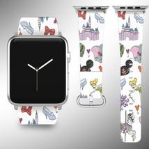 Cartoon Characters Apple Watch Band 38 40 42 44 mm Disney 1 2 3 4 Wrist Strap - $24.99+