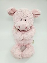 """13"""" The Petting Zoo Pink PIG Hands Together Soft Plush Stuffed Animal To... - $19.99"""