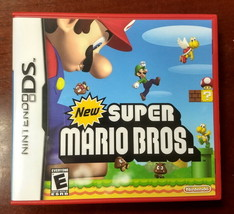 Nintendo DS SUPER MARIO BROS COMPLETE w CASE MANUAL VG! - $19.79