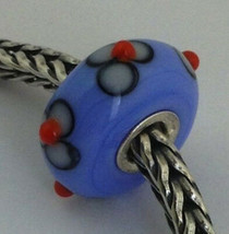 Authentic Trollbeads Glass Unique (#136) Bead Charm, 13mm Diameter New - $33.25