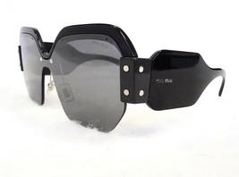 Miu Miu Women's Sunglasses MU09SS 1AB4S1 135 Black Made In Italy - New! - $199.95