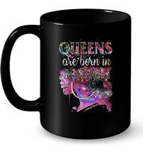 March Queens Colorful Birthday Ceramic Mug - $13.99+