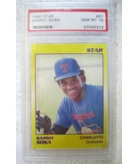 SAMMY SOSA RC 1990 STAR ROOKIE CARD#61 GRADED PRISTINE PSA 10-WHITE SOX RC - $49.49