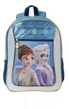 "Frozen 2 Disney 16"" Backpack Elsa & Anna Kids School Book Bag NWT - $14.84"