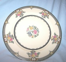 Crown Lion Ivory Dinner Plate-Selb Bavaria-Hutschenreuther-10 inches across - $23.03