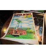 "Super Bowl XII (12) ,POSTER ,1/15/78, 22"" X 33"" Louisiana Superdome ,New... - $44.46"