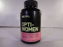 Optimum Nutrition - Opti-Women Women's Multiple - 120 Caps - $22.72
