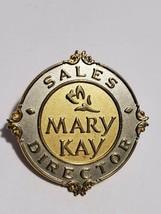 Mary Kay Cosmetics Sales Director Pin Silver & Gold Tone Brooch  - $18.69
