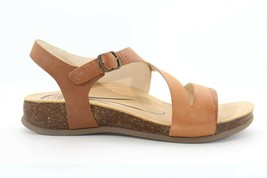 Abeo Brittany Sandals Tan Women's Size 10 Post Footbed (EPB ) 3960 - $96.00