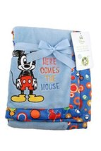 Disney Mickey Mouse Novelty Baby Blanket Fleece, gs70498 - $12.99