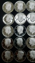2019 S Silver Proof Kennedy Half Dollar Roll of 20 .999 Silver Gem Coins Lot # 2 image 2