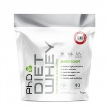 PhD - PhD Diet Whey - 1Kg - Cherry Bakewell - $38.88