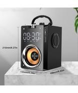 10W Heavy Bass Speakers Bluetooth Speaker 5.0(Black) - $84.42