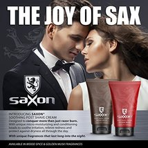 Saxon Post Shave Cream with Micro Moisturizing and Conditioning Beads, Woodspice image 5