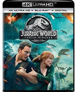 Jurassic World: Fallen Kingdom [4K Ultra HD + Blu-ray + Digital]   - $34.95