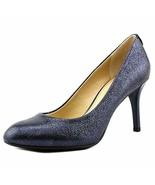 MICHAEL Michael Kors MK Flex Pump Dress Sandals Sparkle Metallic Navy 8.5 - $89.09