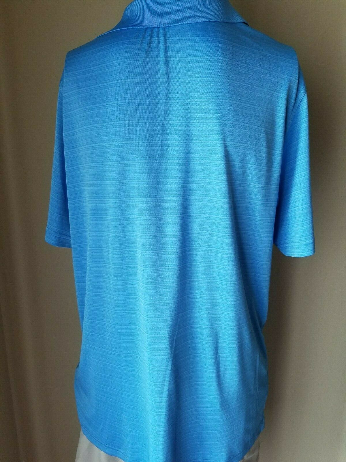 3 Uomo Polo Golf Camicie Ashworth Greg Norman Bobby Jones Blu Manica Corta XL