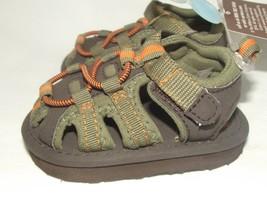 NWT Carters Infant Boys 3 6 M Months Size 2 Fisherman Sport Sandals Summ... - $9.99
