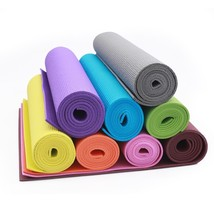 Adeco 72''x24''Yoga Mat Pad Non-Slip Exercise Fitness Pilates 12mm Thick... - $18.99