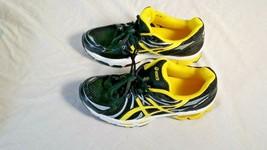Asics Gel Nimbus 13 Womens Size 4.5 Black Yellow Walking Running Shoes EUC - $39.95