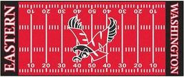 "Fanmats NCAA Eastern Washington Eagles Field Runner Mat Area Rug Large 30"" x 72"" - $54.44"