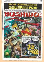 Original 1975 DC Comics Our Army at War 283 color guide art battle page:... - $99.50