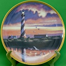 1990 Hamilton Collection Collector Plate, Cape Hatteras Light, Howard Koslow - $3.95